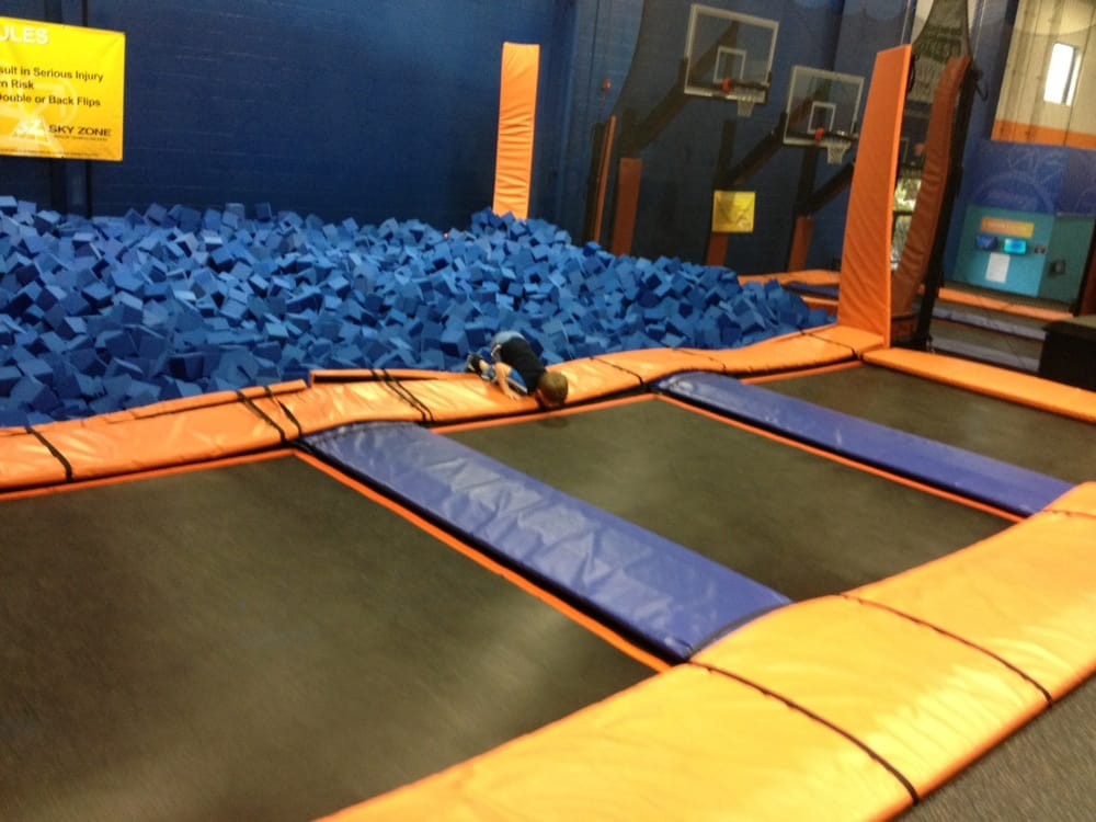 photos for sky zone trampoline park yelp. Black Bedroom Furniture Sets. Home Design Ideas