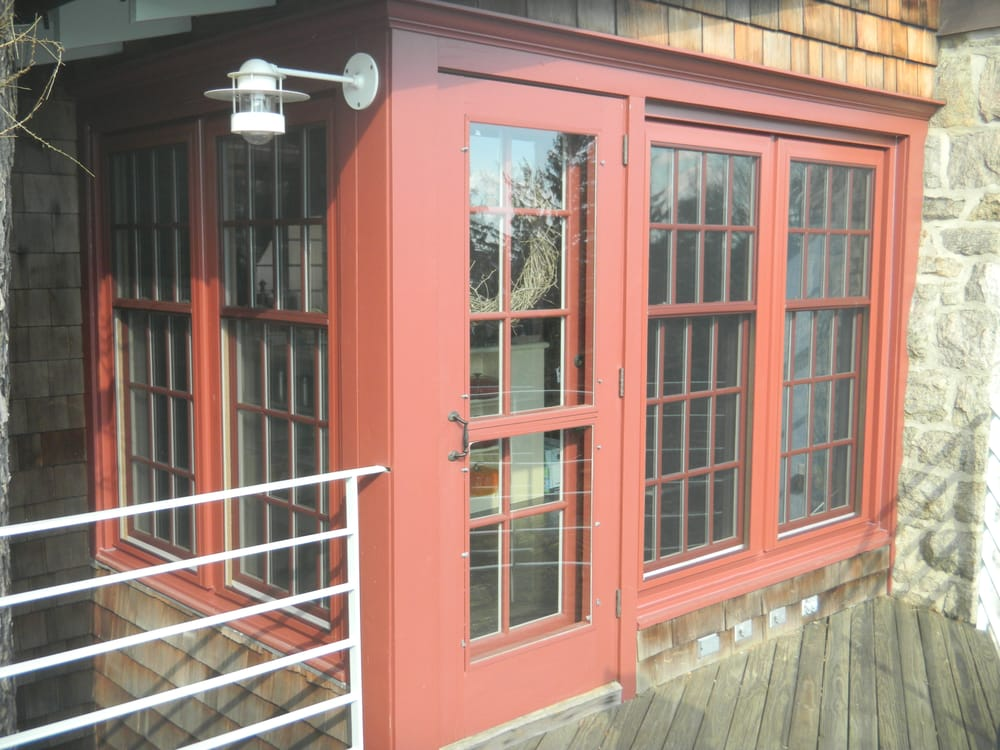 Composit Window With Factory Red Painted Exterior Yelp
