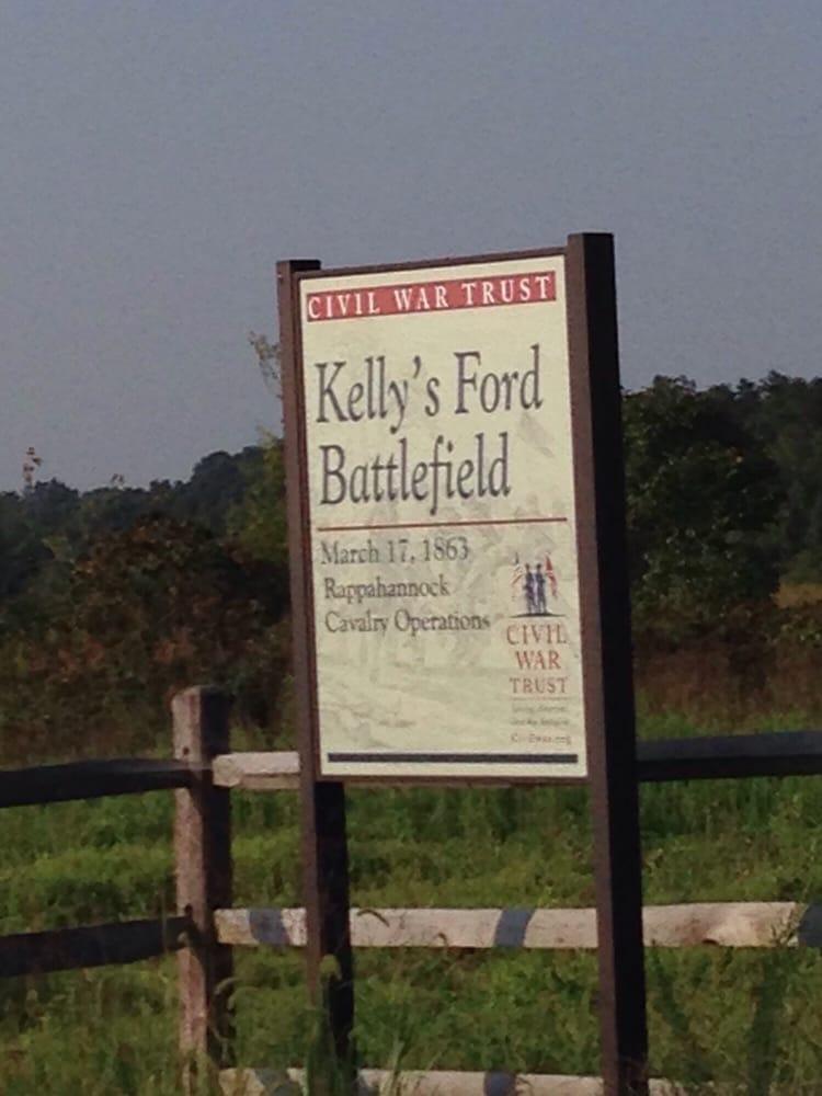 Kelly's Ford Battlefiled: 10997 Marsh Rd, Bealeton, VA