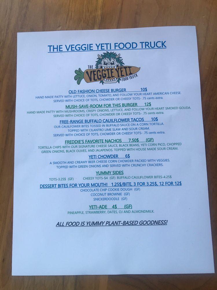 The Veggie Yeti