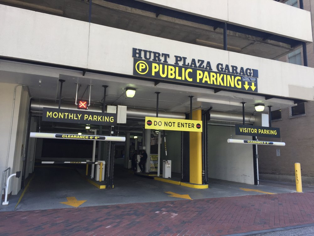 Hurt plaza parking garage closed parking 33 hurt plz for Garage builders atlanta