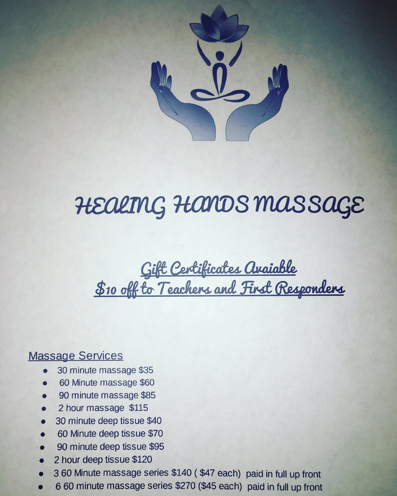 Healing Hands: 519 N Walnut, Sherman, TX