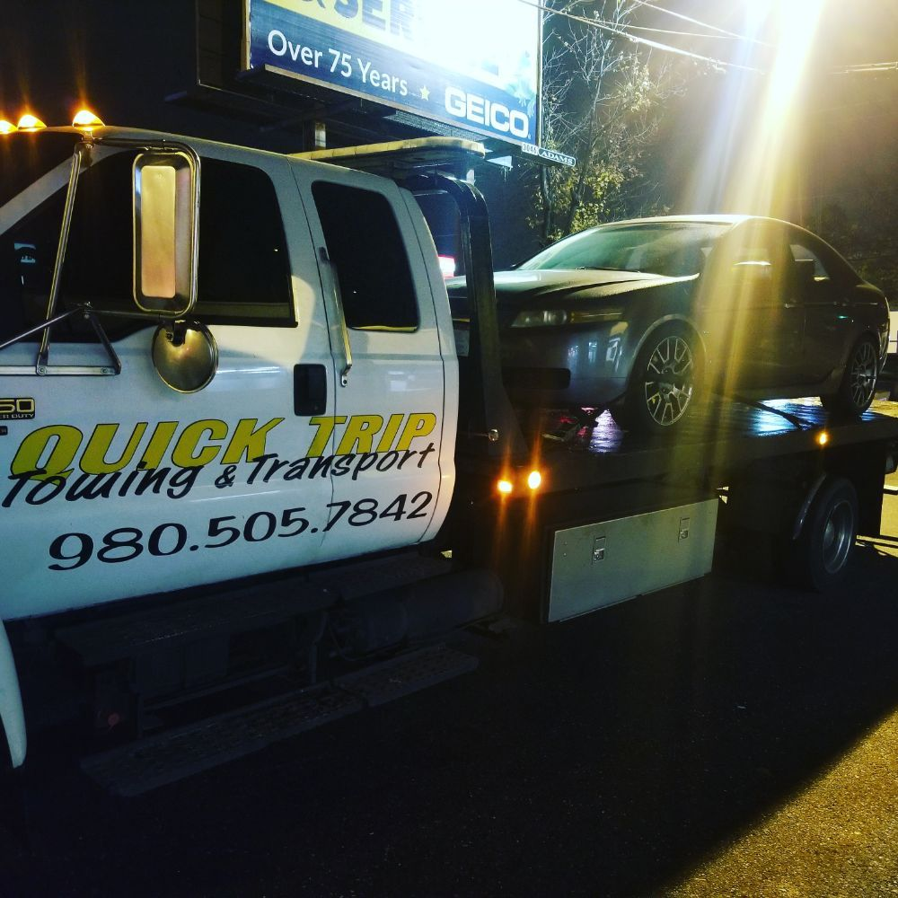 QuickTrip Towing: 3312 S Tryon St, Charlotte, NC
