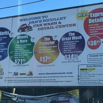 Dan S Nicollet Car Wash Minneapolis