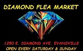 Diamond Flea Market: 1250 E Diamond Ave, Evansville, IN