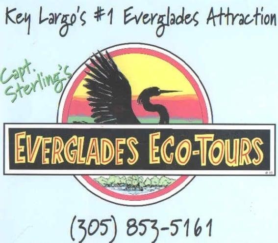 Sterling S Restaurant: Captain Sterling's Everglades Tours, Key Largo