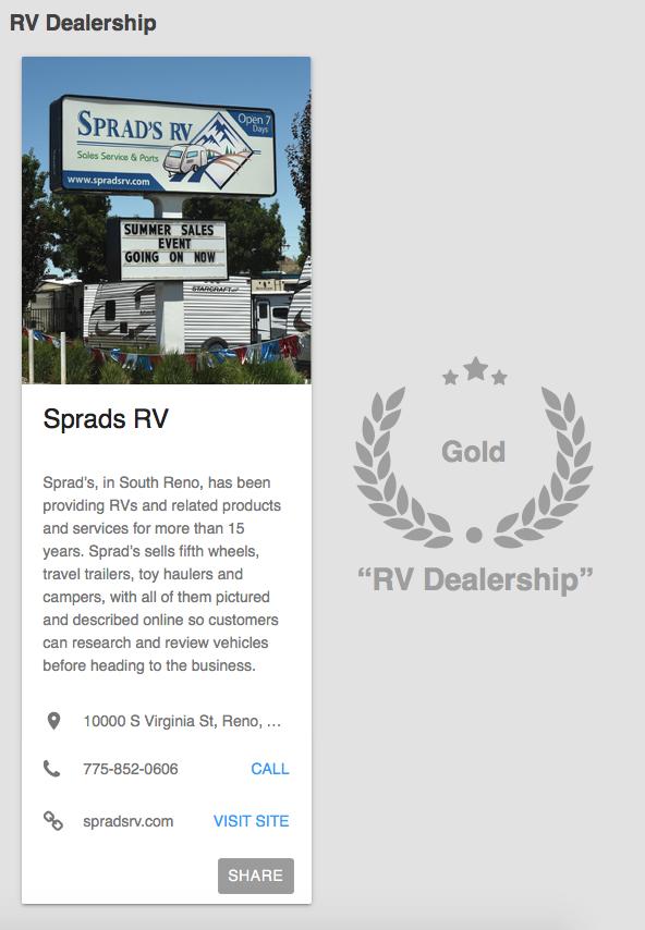 Sprads RV - 46 Reviews - RV Dealers - 10000 S Virginia