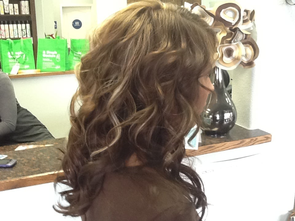 Loose Curls Beautiful Hi Light Low Light By Lauren Gorgeous Hair