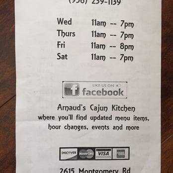Arnaud S Cajun Kitchen Montgomery Huntsville Tx