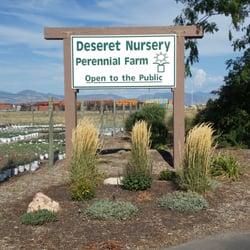 Deseret Nursery Perennial Farm Nurseries Gardening 5750 California Ave Glendale Salt