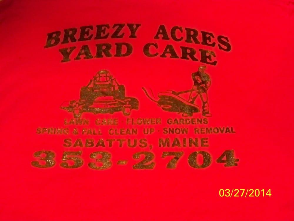 Breezy Acres Yard Care: 114 Keay Rd, Sabattus, ME