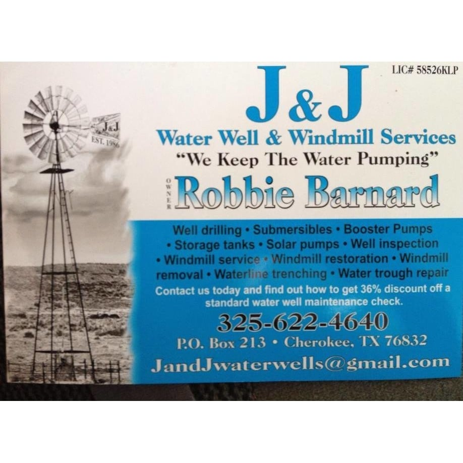 J & J Water Well And Wind Mill Services: Tow, TX