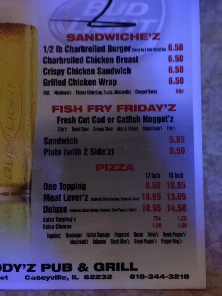 Woody'z Pub & Grill: 100 S Long St, Caseyville, IL