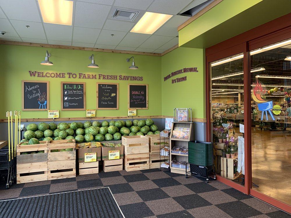 Fresh Thyme Market: 2410 N Salisbury St, West Lafayette, IN