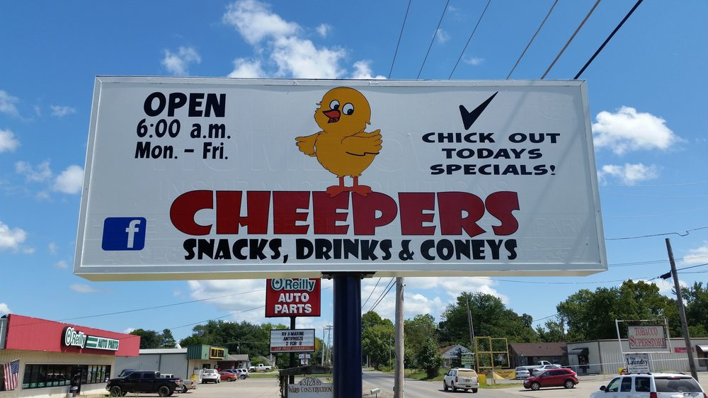 Cheepers: 1128 W 2nd St, Waldron, AR