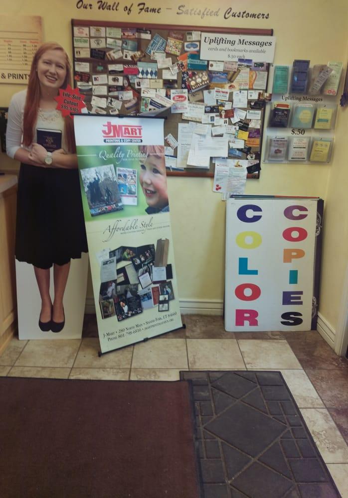 J-Mart Publishing: 280 N Main St, Spanish Fork, UT