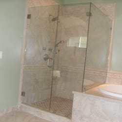 Photo Of Pacific Glass And Mirror   San Diego, CA, United States. HEAVY.  HEAVY SHOWER ENCLOSURE