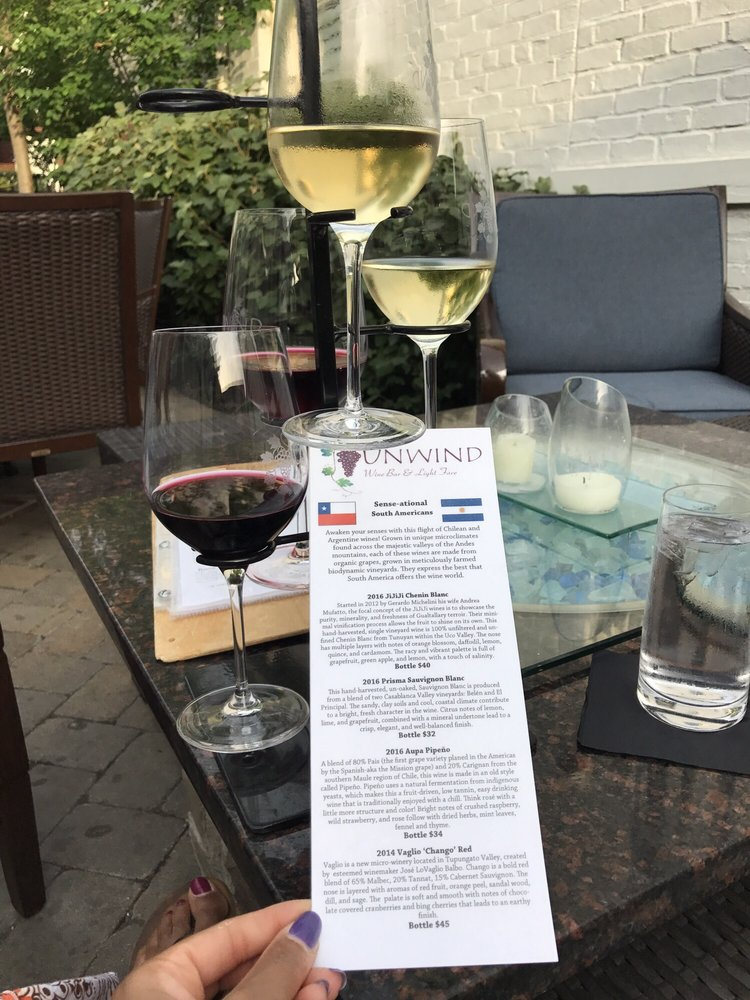 Unwind Wine Bar & Light Fare: 3435 Michigan Ave, Cincinnati, OH