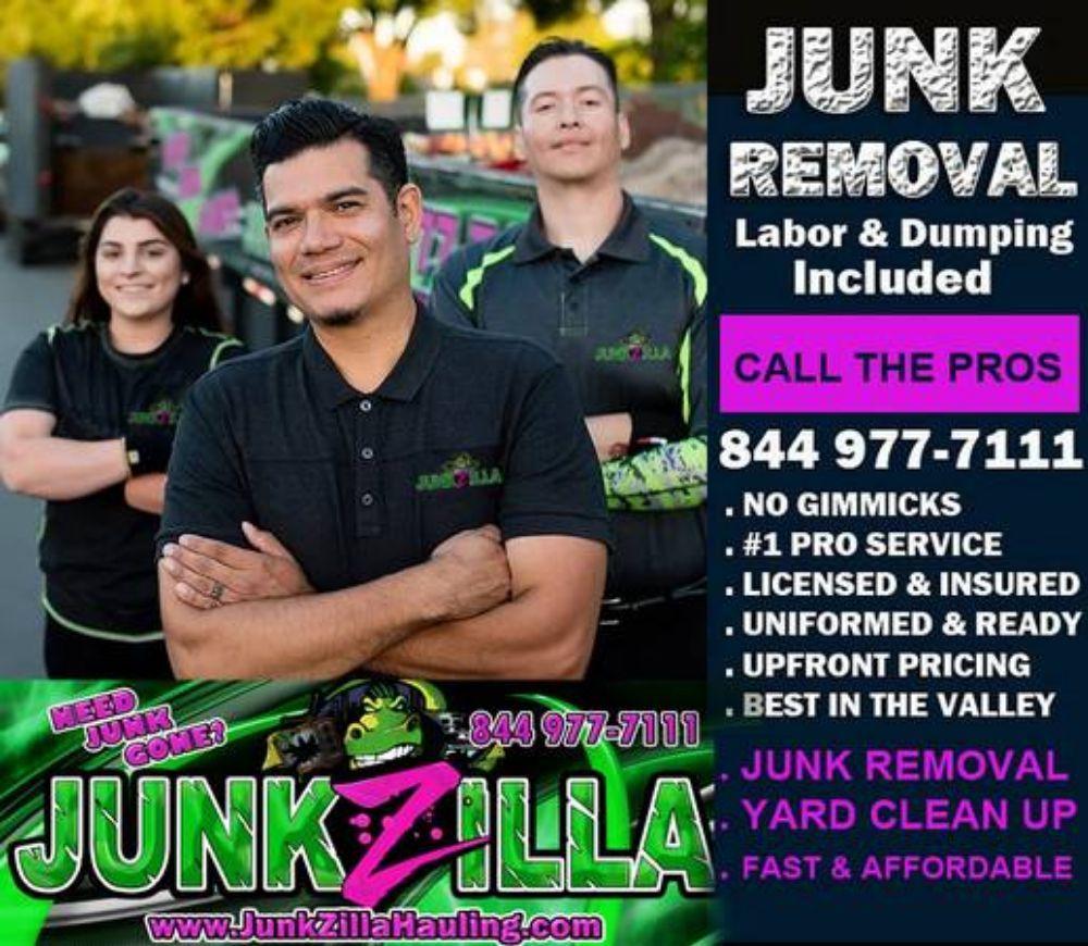 Junkzilla Hauling: 10940 Trinty Pkwy, Stockton, CA