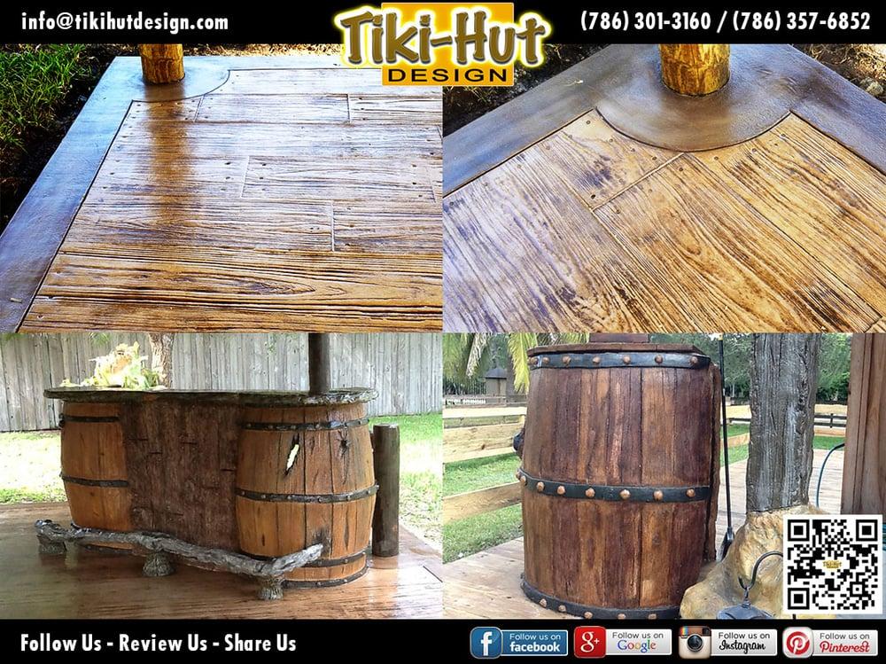 Tiki Hut Design Of Miami