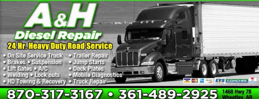 A&H Diesel Repairs: 1468 AR-78, Wheatley, AR