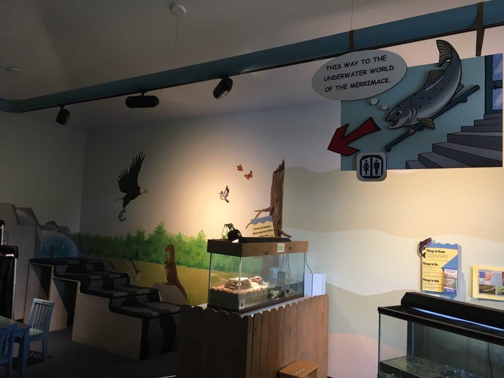 Amoskeag Fishways Visitors Center: 4 Fletcher St, Manchester, NH