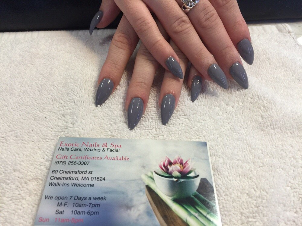 Exotic Nails Spa Chelmsford Ma