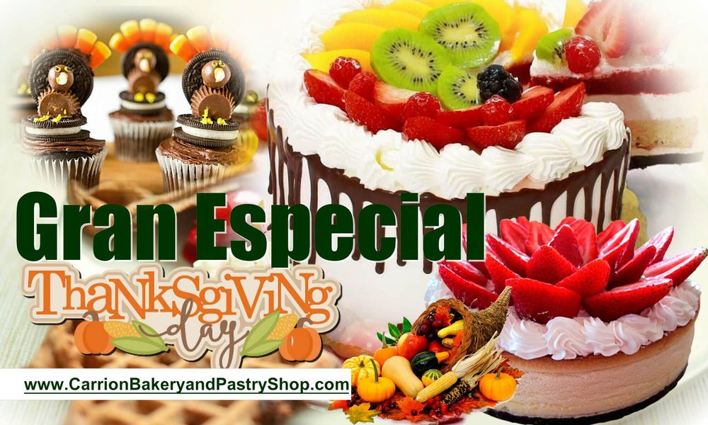 Carrion Bakery & Pastery Shop: 6203 State St, Huntington Park, CA