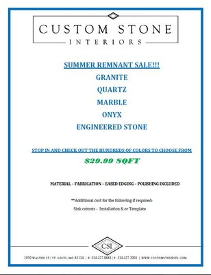 Custom Stone Interiors 1950 Walton Rd Saint Louis, MO Hardware Stores    MapQuest