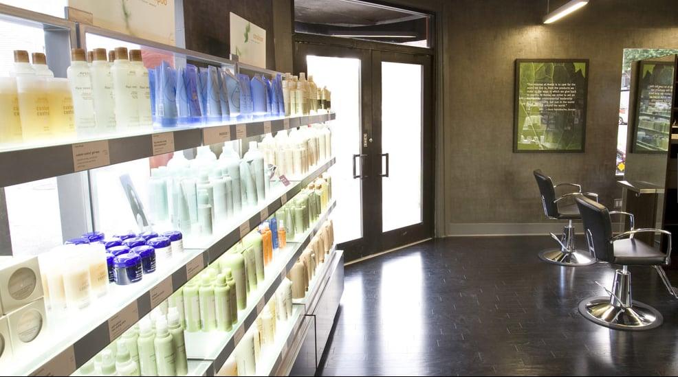 Paris parker salon spa hairdressers west riverside for Salon spa paris