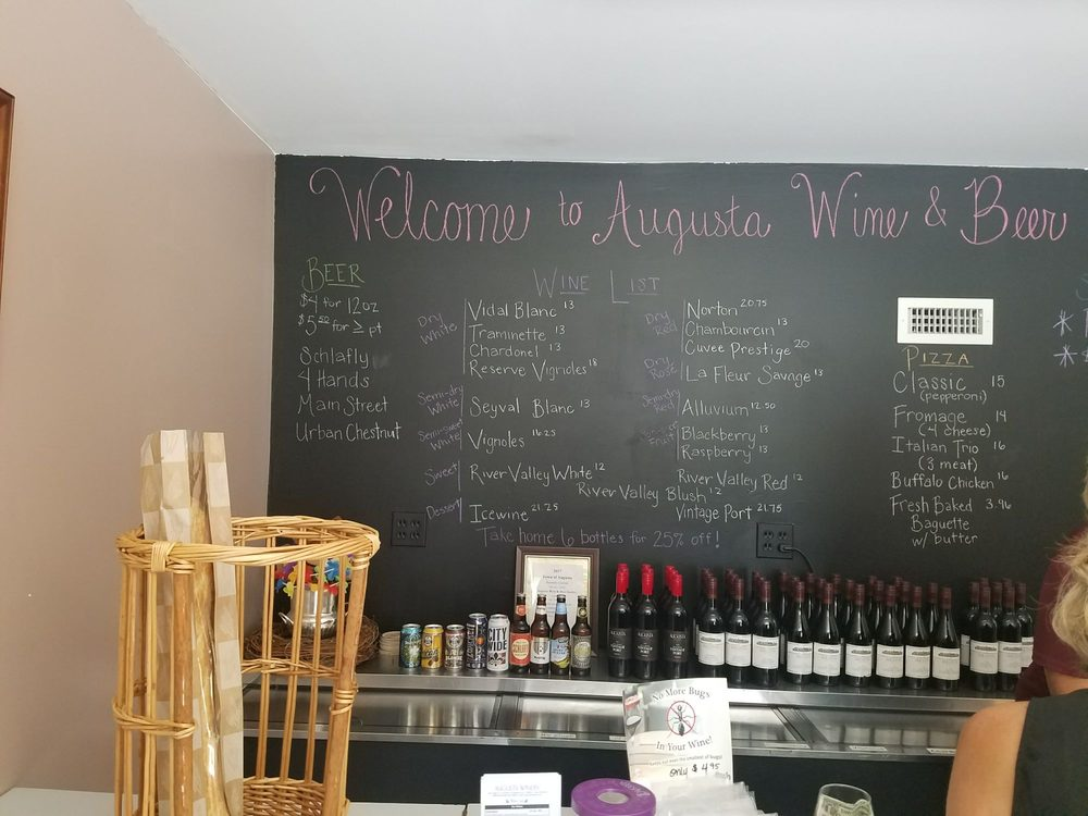 Augusta Winery: 5601 High St, Augusta, MO