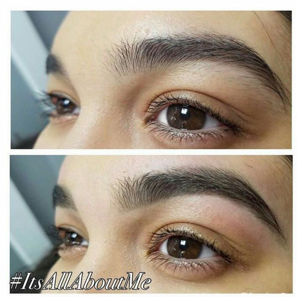 Mercedes Eyebrows Before And After Eyebrow Wax Yelp