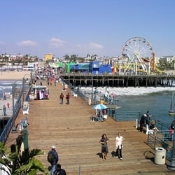 Photo Of Santa Monica Beach Bicycle Als Ca United States