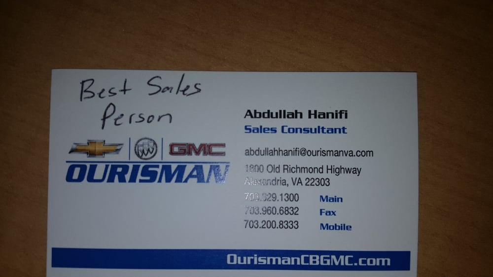 Great Salesman Abdullah Hanifi Yelp