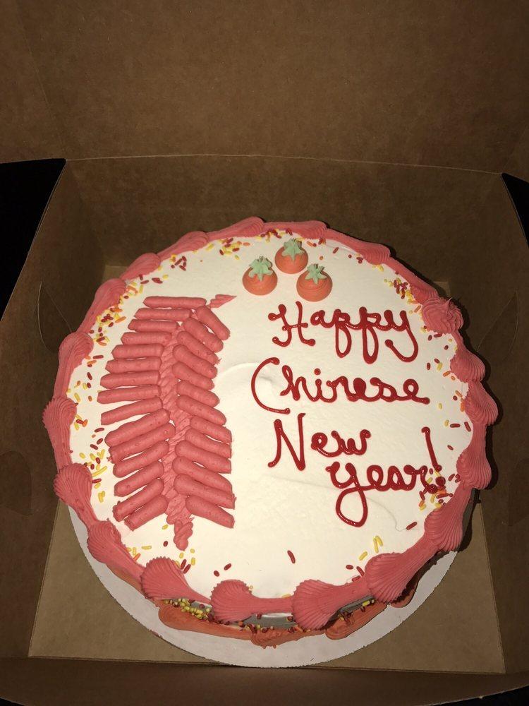 happy chinese new year green tea ice cream cake yelp