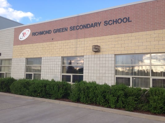 Richmond green secondary school elementary schools 1 for B home inspections