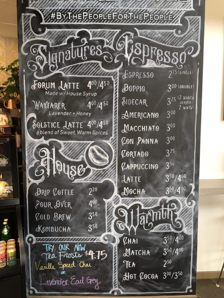 Forum Coffee: 1108 S Walton Blvd, Bentonville, AR