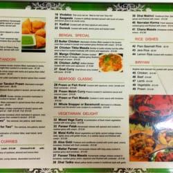Bengal curry restaurant cucina indiana 609 stanley st for Arman bengal cuisine dinas menu