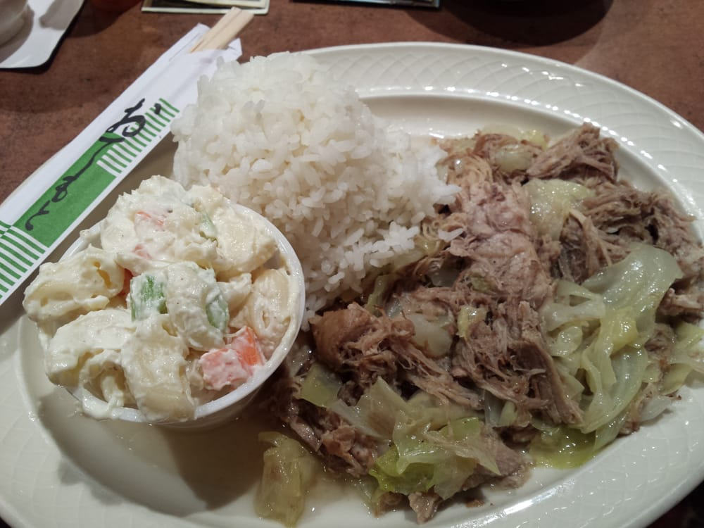 how to cook kalua pig and cabbage