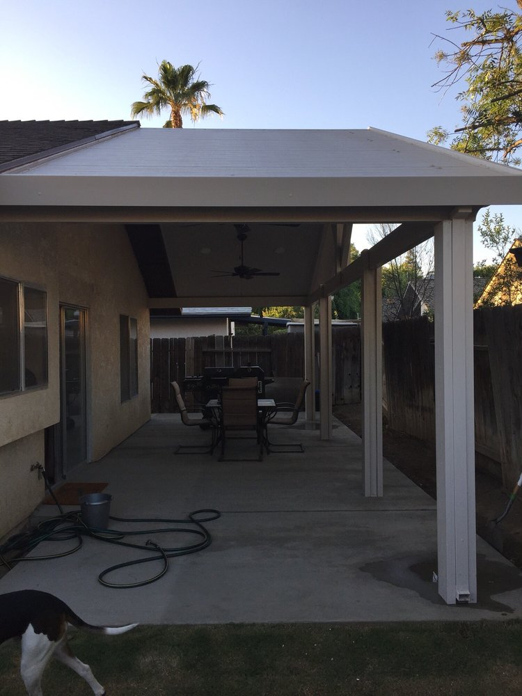 Bakersfield Patio Covers, Gutters, Security & Screen Doors: 2433 Fruitvale Ave, Bakersfield, CA