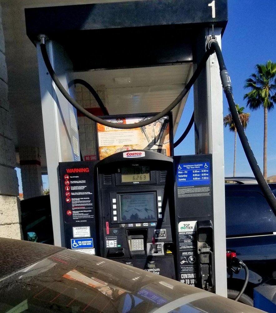 Costco Gas: 480 N McKinley St, Corona, CA