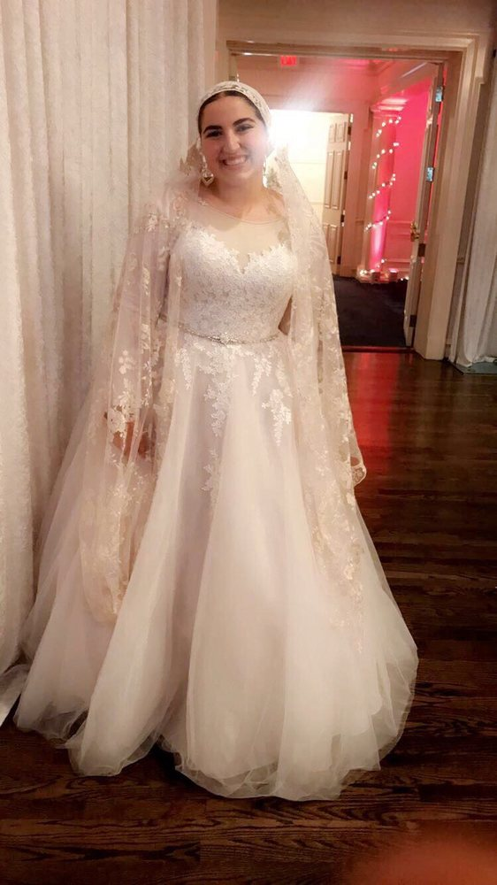 My $950 Rebecca Ingram dress with alterations added! - Yelp