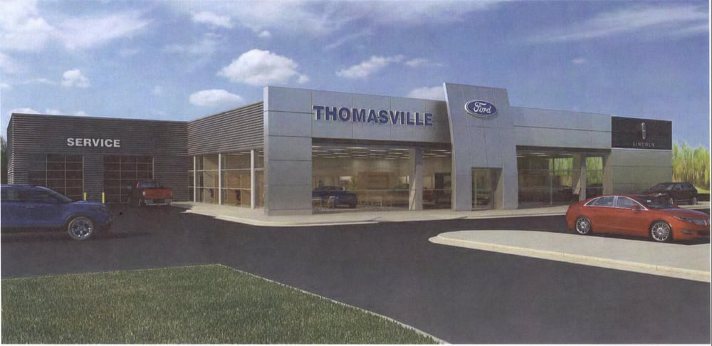 Thomasville ford lincoln mercury reviews thomasville for General motors dealers near me