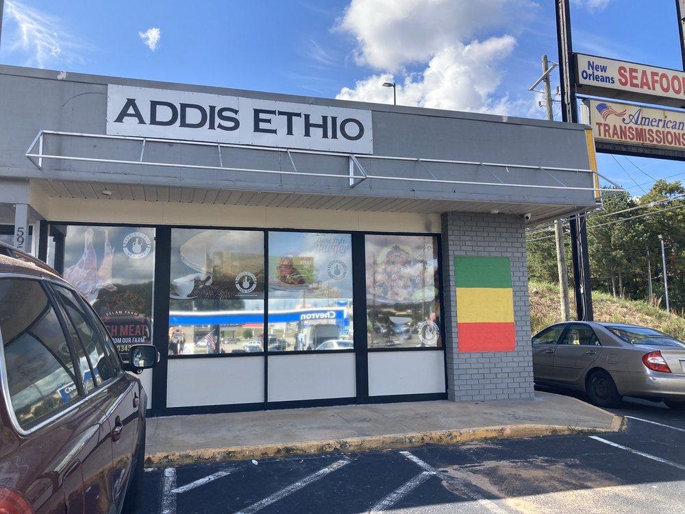 Addis Ethio Kitchen And Mart: 5955 Memorial Dr, Stone Mountain, GA