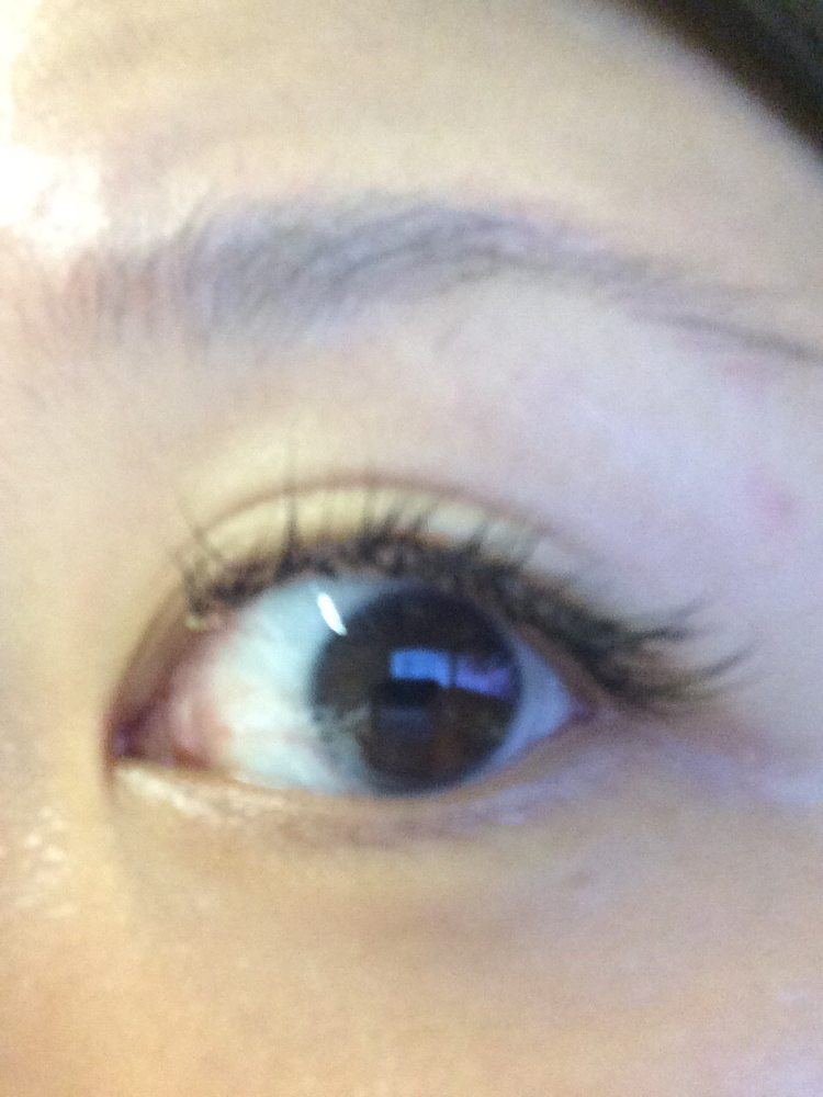There Is A Glob Of Glue That Dried On My Eyelash Yelp