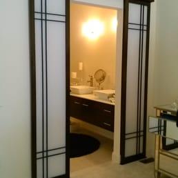 Bathroom Entry Sliding Shoji Doors Yelp