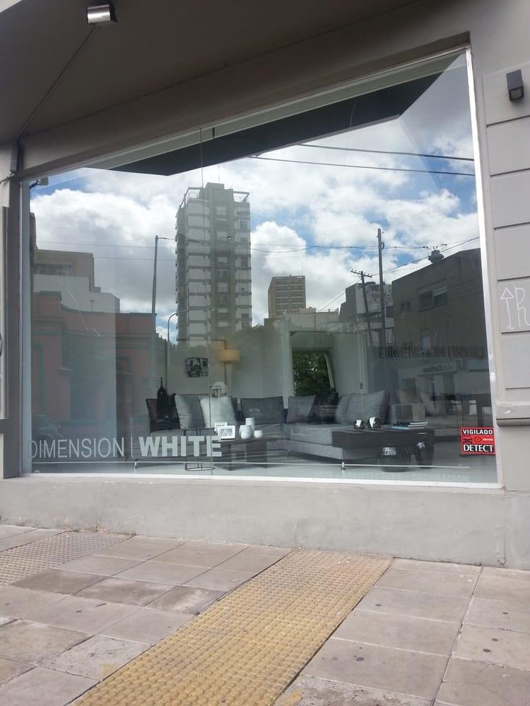 Dimension white dise o de interiores malabia 997 for Diseno de interiores buenos aires