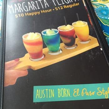 Texican Cafe Drink Menu