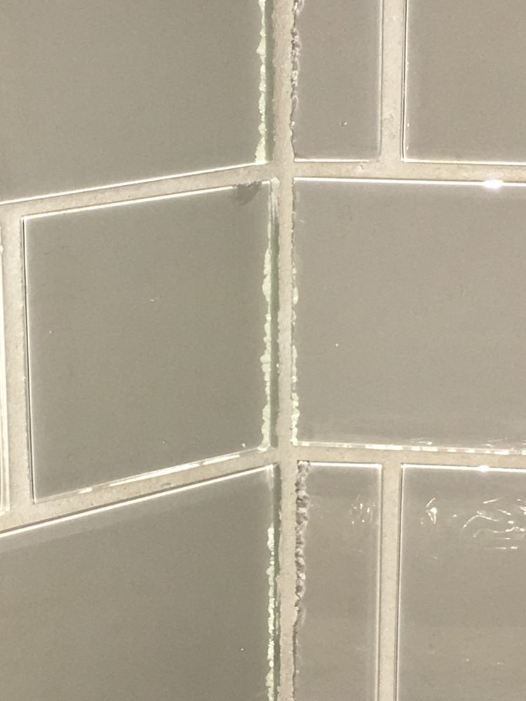 Glass Tile Chipped Edges Yelp