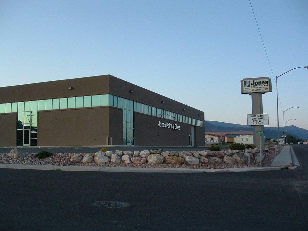Jones Paint & Glass - Cedar City: 38 E 1600th N, Cedar City, UT
